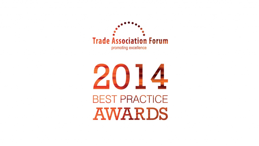 Trade Association Forum Best Practice Awards 2014